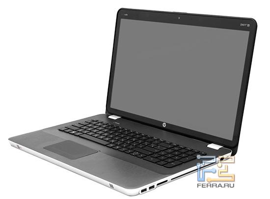 HP ENVY 17 3D в открытом состоянии