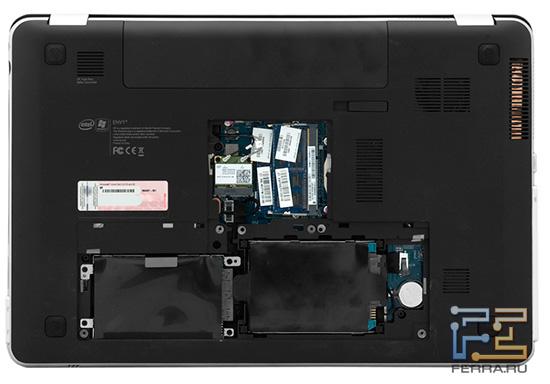 Возможности расширения HP ENVY 17 3D