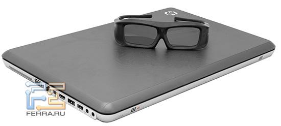 HP ENVY 17 3D с очками Xpand