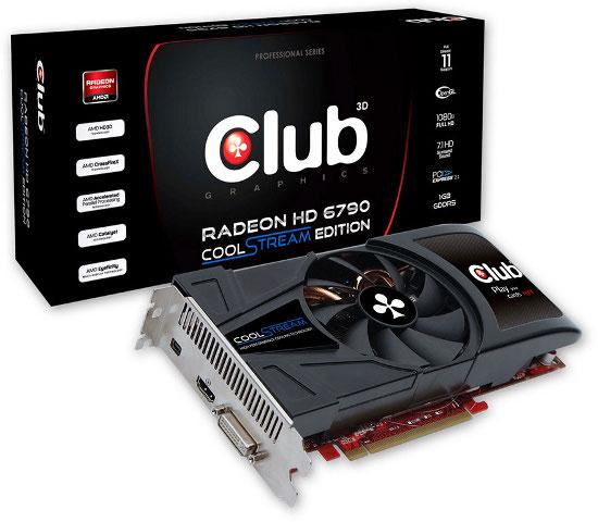 Club 3D Radeon HD 6790 CoolStream Edition