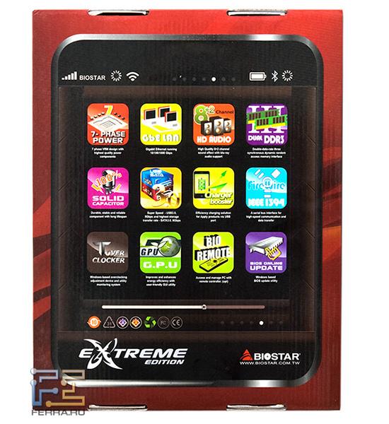 Функции платы TH67XE кроме того размещены на дисплее известного телефона
