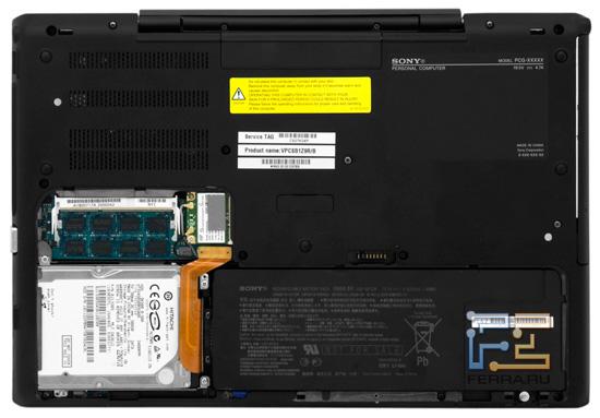 Возможности обновления Sony VAIO S