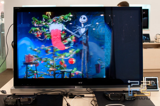 Объёмное видео на Sony BRAVIA KDL-40NX710s