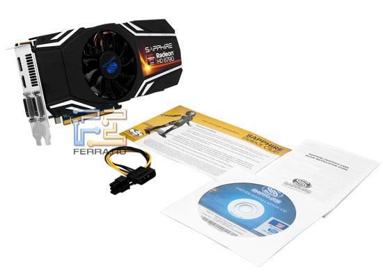 Комплект поставки Sapphire HD 6790 1GB GDDR5