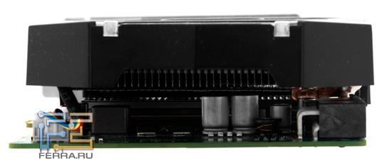 Sapphire HD 6790 1GB GDDR5. Вид сбоку