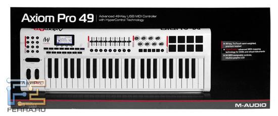MIDI-клавиатура M-Audio Axiom PRO 49 в коробке