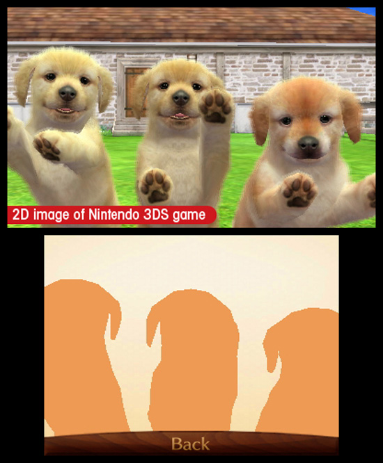 Гладьте, гладьте этих щенят! Nintendogs + Cats так к этому располагает!