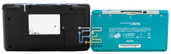 Nintendo 3DS заметно меньше предшественницы, Nintendo DS fat...