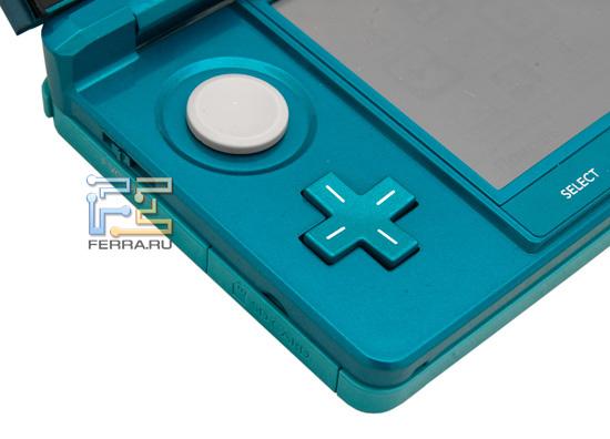 Аналоговый Circle Pad и классический D-Pad Nintendo 3DS