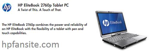 HP EliteBook 2760p