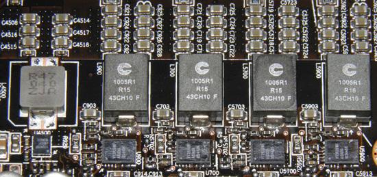 Подсистема памяти HD 6990