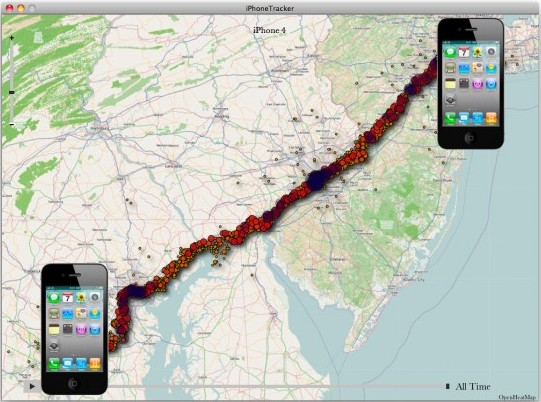 iPhone Tracker