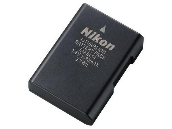 Аккумуляторная батарея Nikon EN-EL14