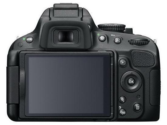 Тыльная часть корпуса Nikon D5100