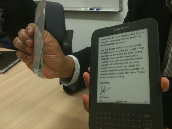 E-Ink � Amazon Kindle