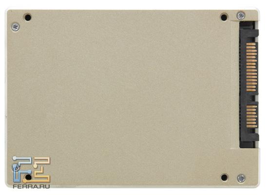 Intel SSD 510, внешность снизу