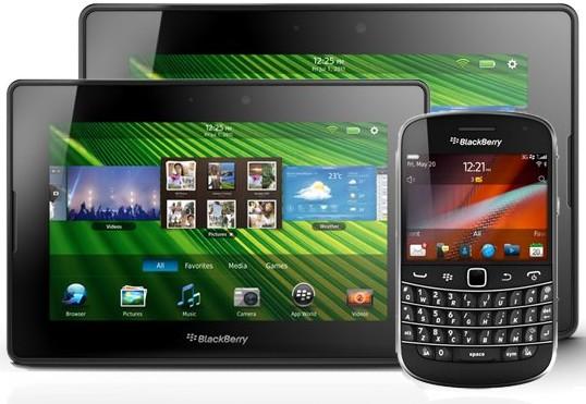 BlackBerry PlayBook, �����