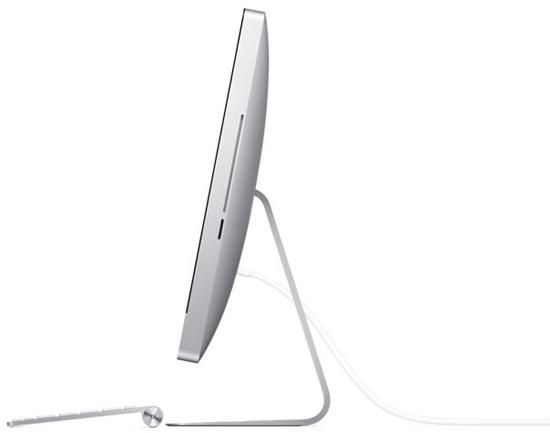 Apple iMac. Вид сбоку