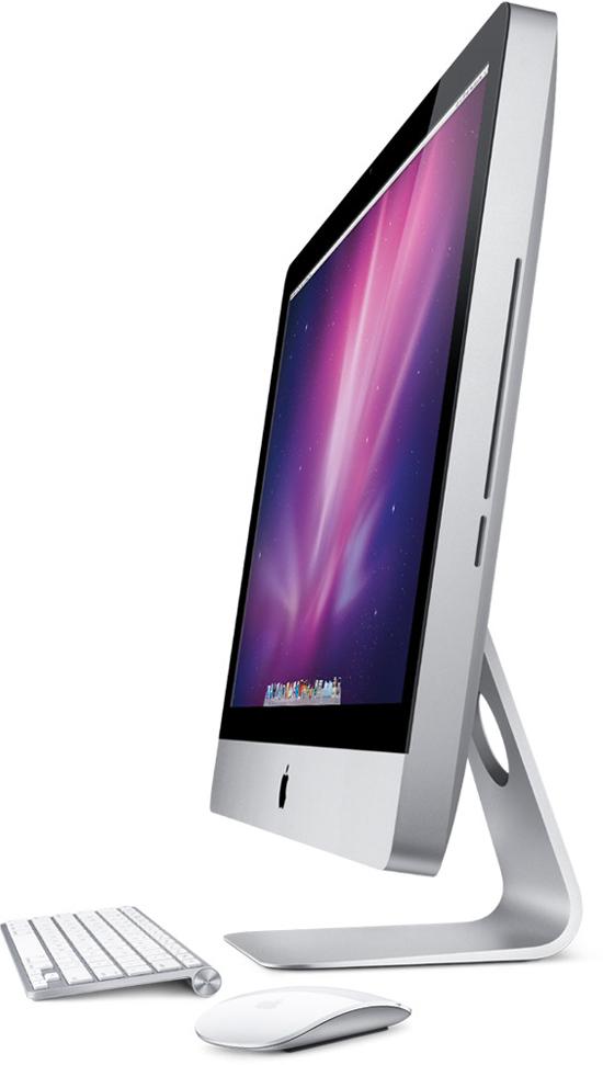 27-дюймовый Apple iMac. Вид сбоку