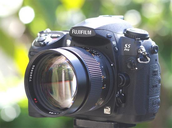 Мануальная оптика на байонете Nikon F камеры Fujifilm S5 Pro