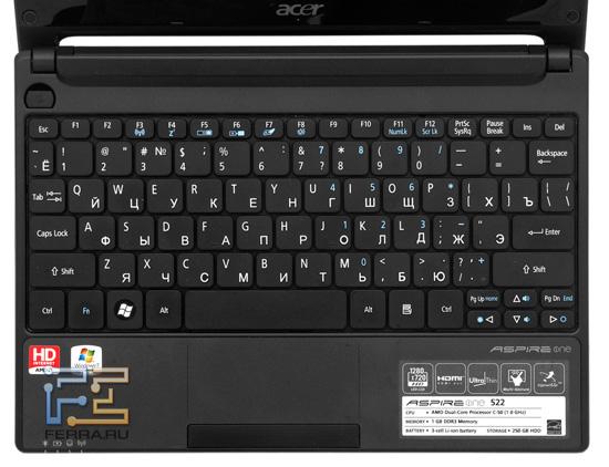 Клавиатура Acer Aspire One 522