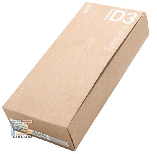 Коробка выполнена из необработанного картона
