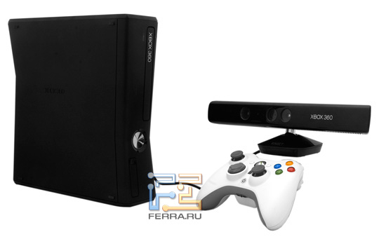 Xbox 360 Slim, Kinect � ����������� �������