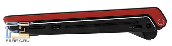 ������ ����� Dell Studio 1747: FireWire, ����-�����, ��� USB, ������ �������, ���� ����������� �������