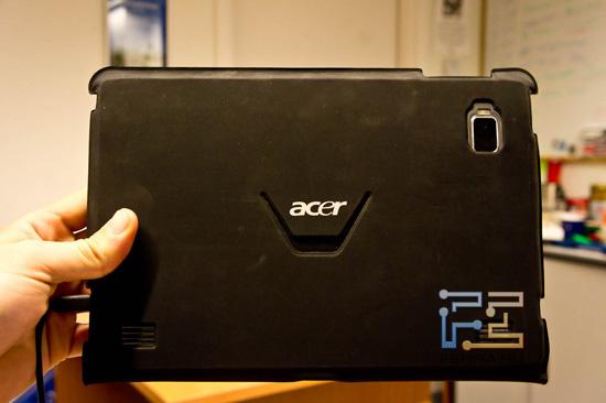 Фирменный slim чехол для Acer Iconia Tab