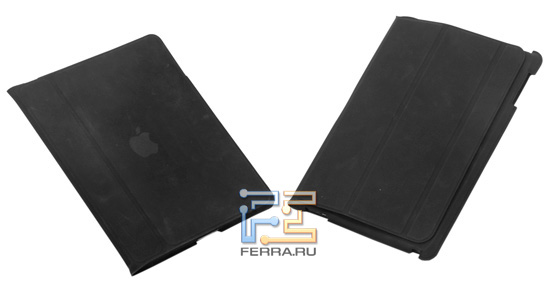 Планшет в чехле в сравнении с первым iPad