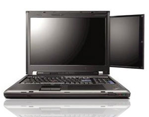 Lenovo ThinkPad W700 Dual Screen