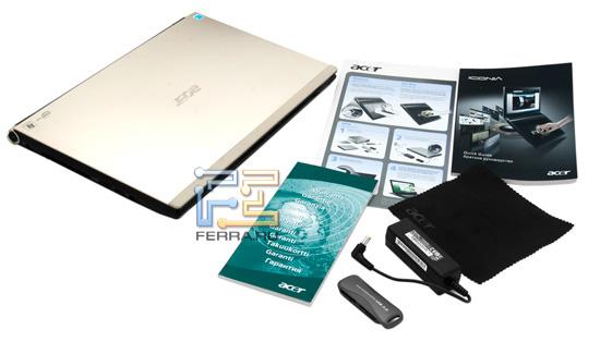 Комплектация Acer Iconia