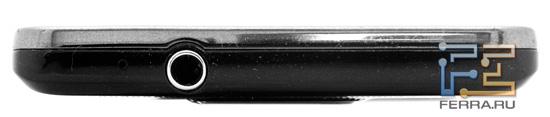 Верхняя грань Samsung Galaxy S II