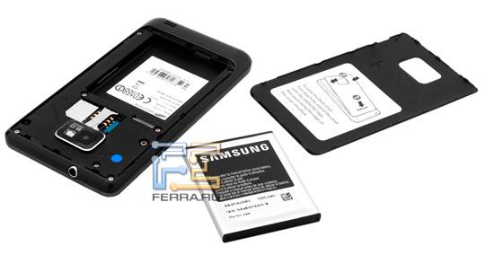 Батарейный отсек Samsung Galaxy S II