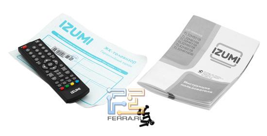 Комплект поставки IZUMI TL42H601B