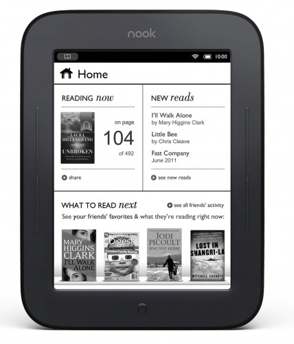 Barnes & Noble Nook The Simple Touch Reader