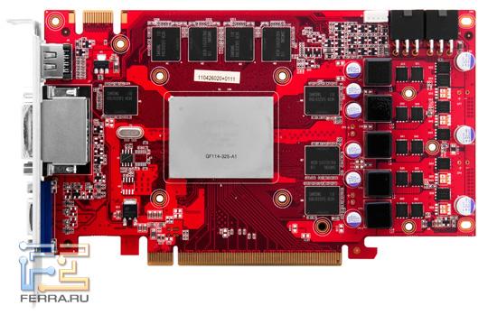 Разбираем видеокарту Palit GeForce GTX 560 2048 MB