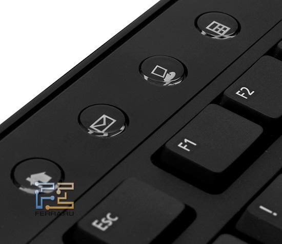 Дополнительные кнопки Dell Zino HD 410