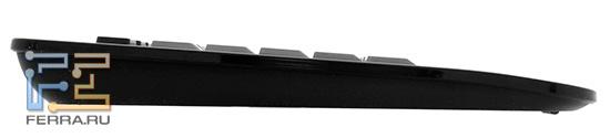 Клавиатура Dell Zino HD 410. Вид слева