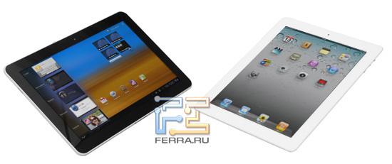 Сравним Galaxy Tab 10.1 и iPad2