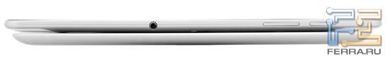 Сравнение толщины Galaxy Tab 10.1 и iPad2