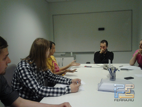 Редакция Ferra.ru обсуждает важное. Вид со стороны Главреда — Samsung Galaxy Tab 10.1