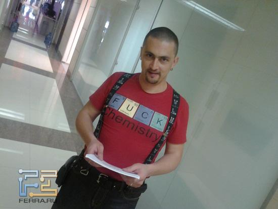 Суровый разработчик из Price.ru — Samsung Galaxy Tab 10.1
