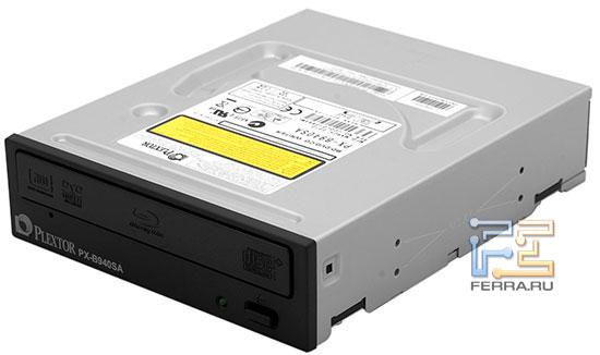Plextor PX-B940SA, скоростной привод для работы с дисками Blu-Ray