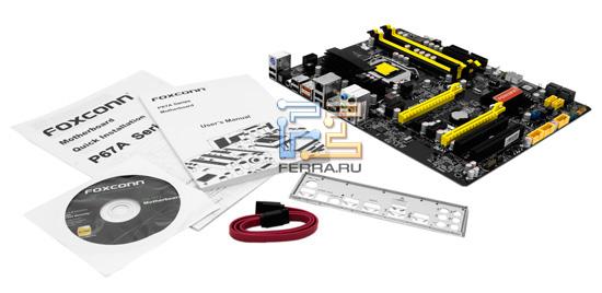 Комплект поставки системной платы Foxconn P67A-S