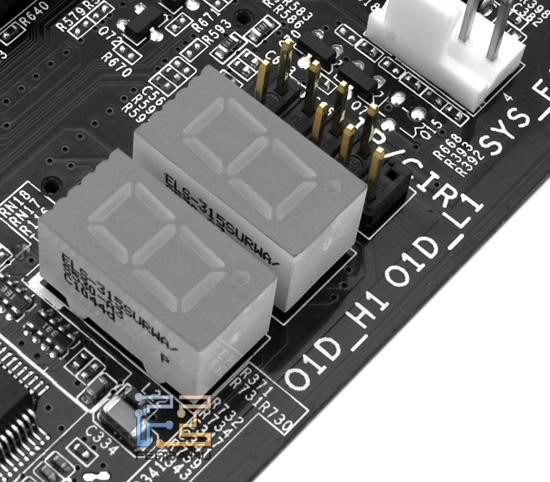 POST-контроллер системной платы Foxconn P67A-S