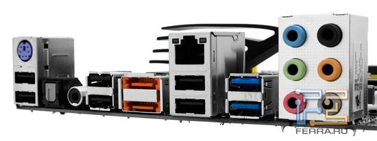 Задняя панель материнской платы Foxconn P67A-S