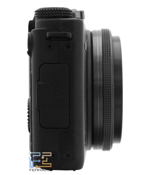 Olympus XZ-1: титановое кольцо на объективе