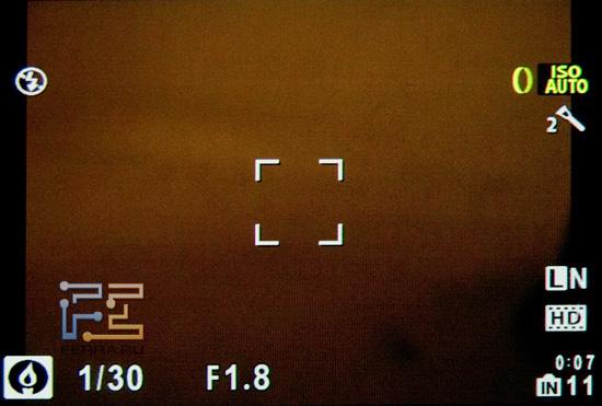 Рабочий экран Olympus XZ-1