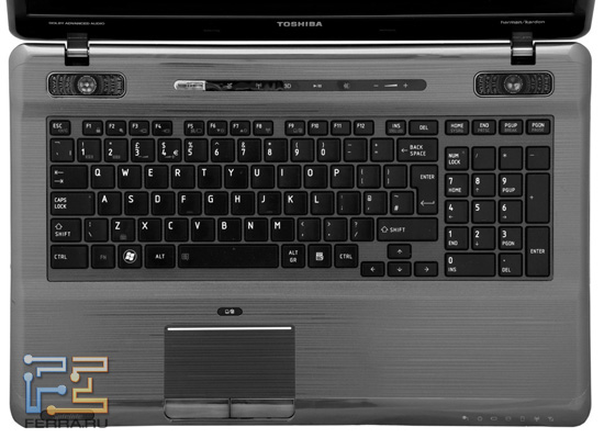 Клавиатура Toshiba Satellite P775 3D